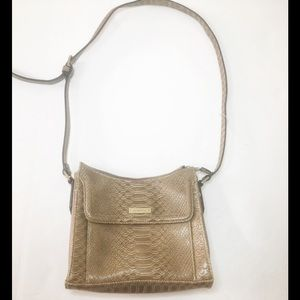 Liz Claiborne animal print shoulder handbag